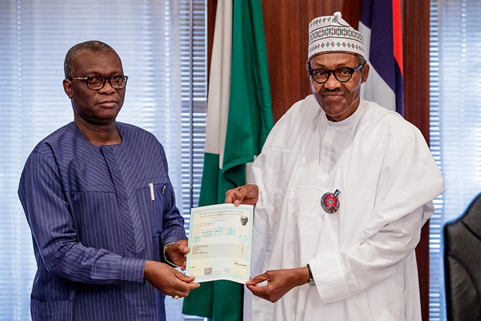 Buhari receives Certification from WAEC