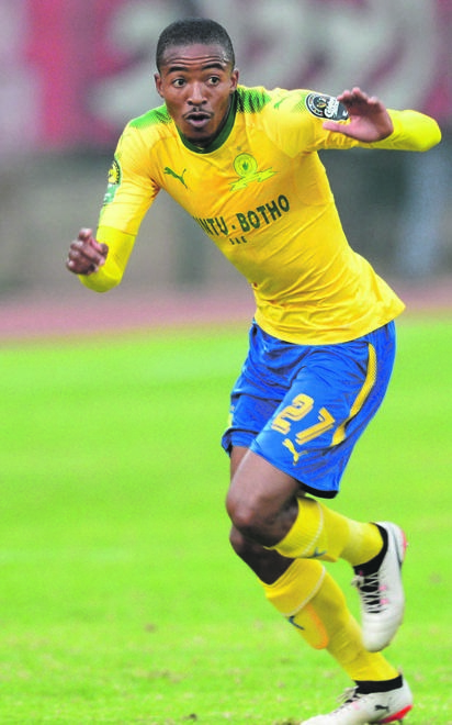 Mamelodi Sundowns' Thapelo Morena wants to cement his place in Bafana Bafana Picture: Lee Warren / Gallo Images
