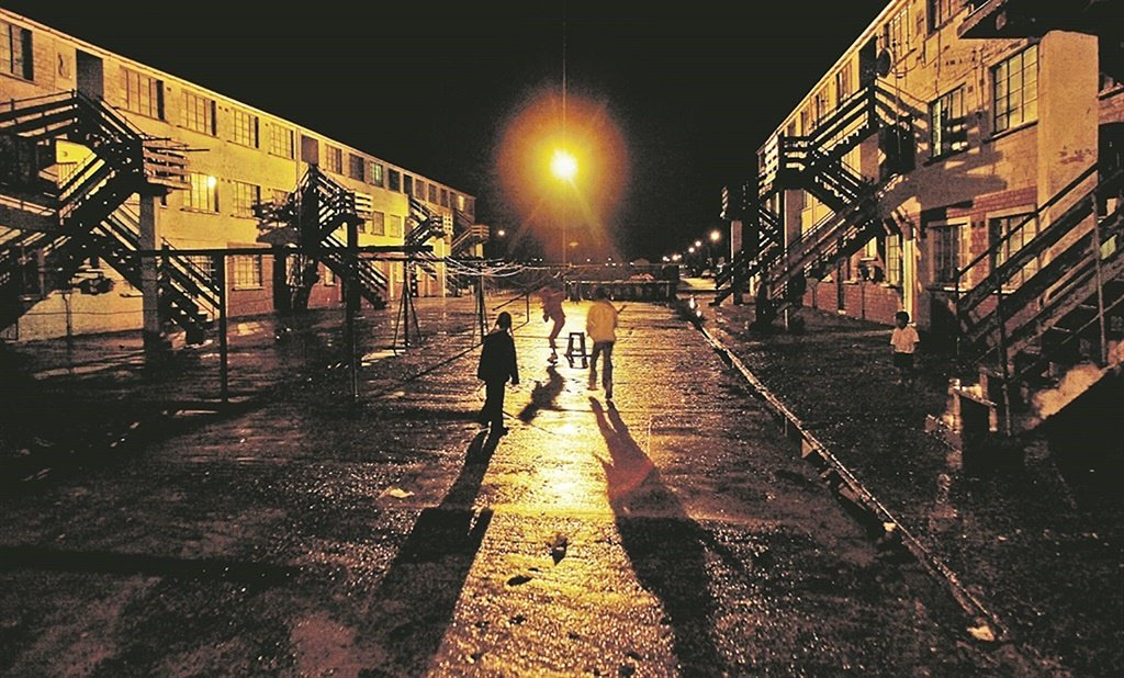 File photo - Kids playing in Manenberg on the Cape Flats.