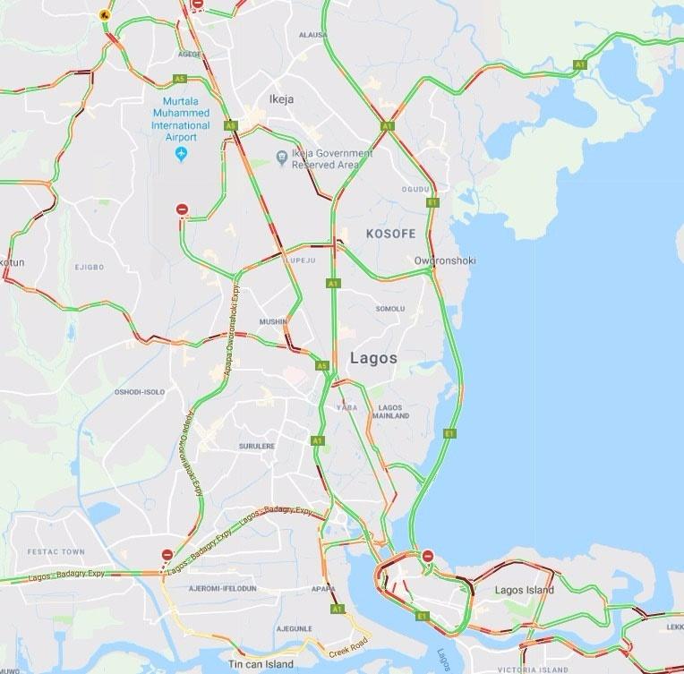 traffic report for November 6