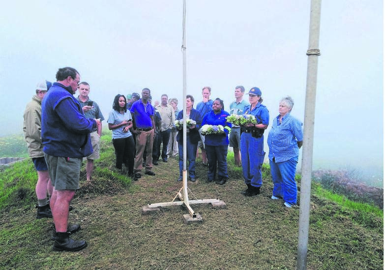 photo: supplied The Kranskop Farmers Association held its annual Remembrance Day commemoration recently.