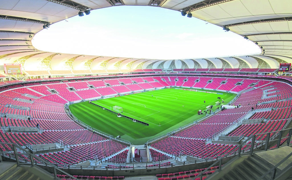 The NMB stadium which has recently launched its Green Hub initiative.       Photo:SUPPLIED