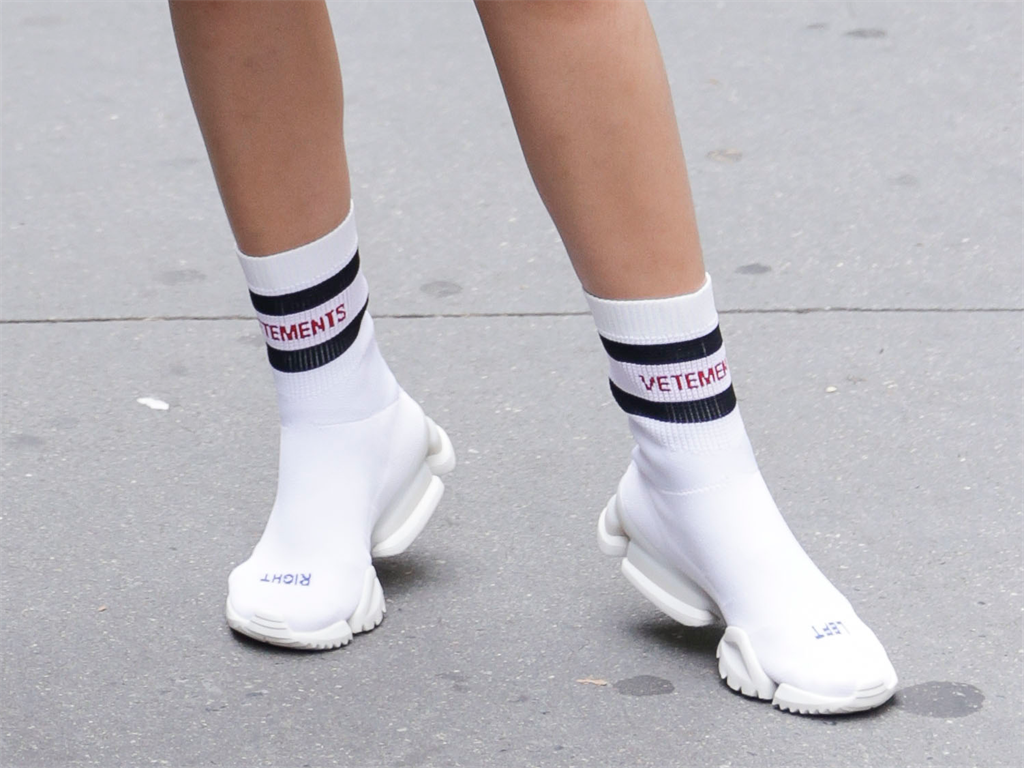 e2f0297aa36e Sock sneakers and boots look more cartoonish than stylish.