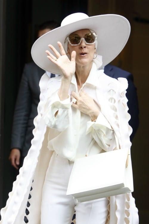 Celine Dion teases new clothing line