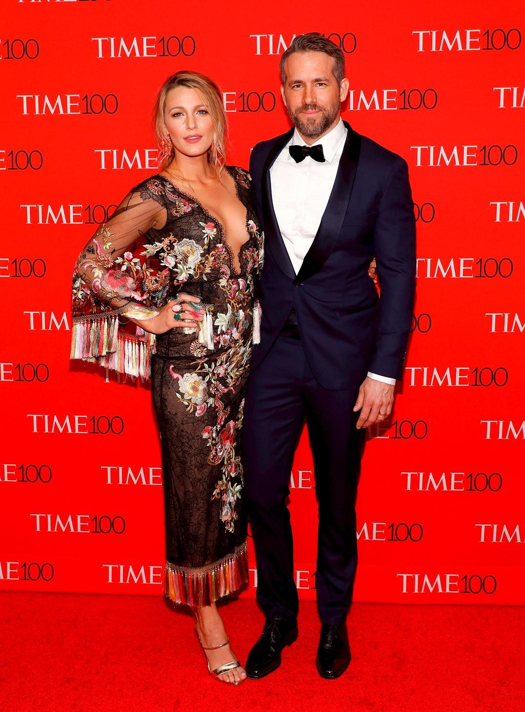 Blake Lively en Ryan Reynolds. Foto: Getty Images/