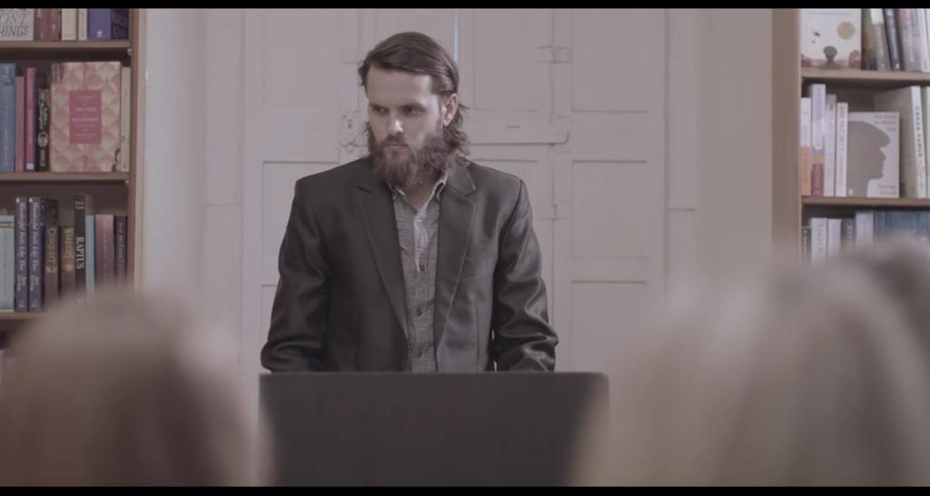 Die akteur Hendrik Cronjé as Daniël in die fliek,