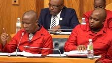 WATCH: Julius Malema on changing the Constitution around land expropriation