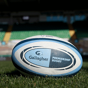 English Premiership Rugby ball (Getty Images)