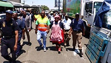 WATCH: Counterfeit goods confiscated in Tshwane by-law enforcement operation