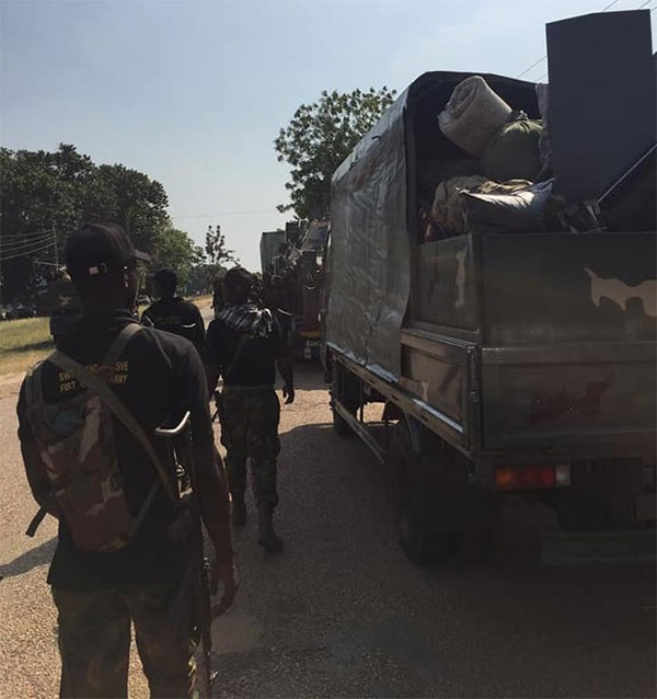 more troops deployed to northeast for Operation La
