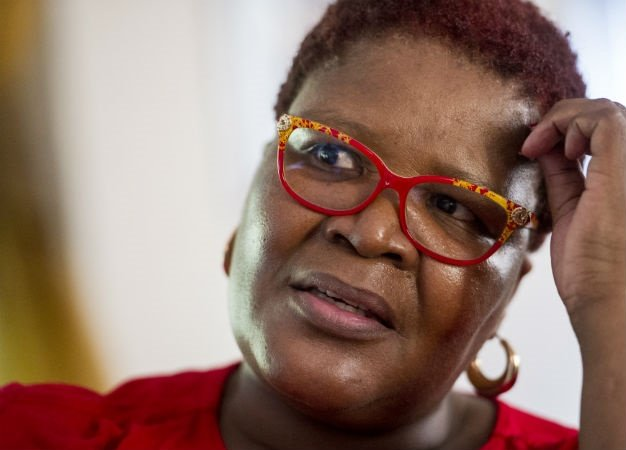 Former ANC MP Vytjie Mentor has admitted that she may have incorrectly identified a man she was introduced to by Duduzane Zuma as Fana Hlongwane during her testimony at the Zondo commission into state capture. ( Conrad Bornman, Gallo Images, Rapport, file)