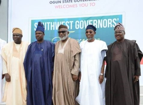 South-West Governors In Nigeria