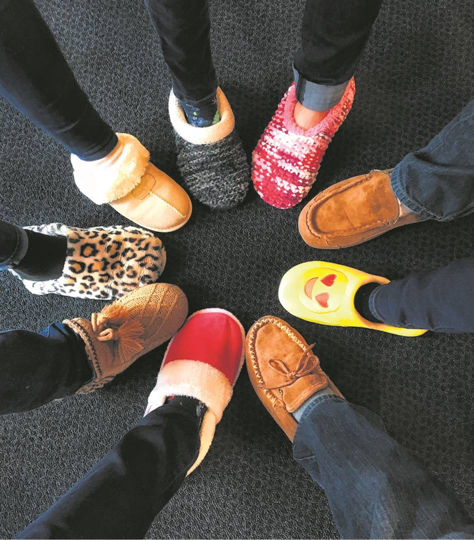 Slipper Day is celebrated annually to raise funds for Reach for a Dream, to help make the dreams come true of children who are fighting life-threatening illnesses. This year Slipper Day will be held on Friday, 7 May. Photo:PINTEREST