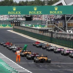 Silverstone grid (File)