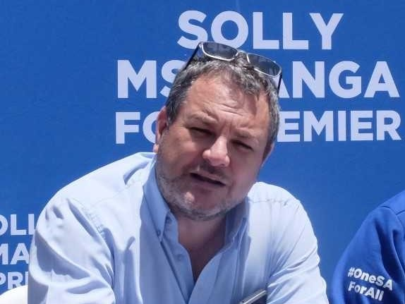 DA MP and Shadow Minister of Mineral Resources and Energy Kevin Mileham. Photo: Sarel van der Walt