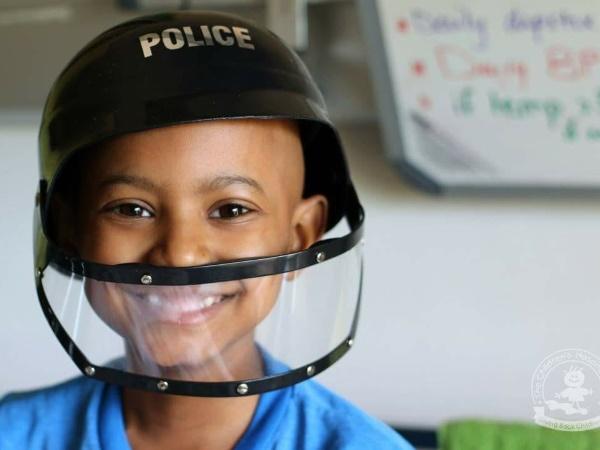 Imraan Freeman seven-year-old Cape Town Burkitt's