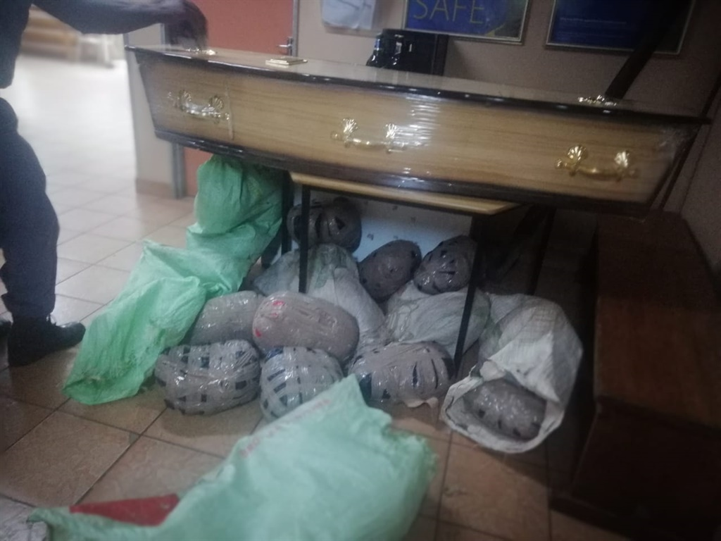 Ashes To Ashes Kzn Cops Find 80kg Dagga In Coffin News24