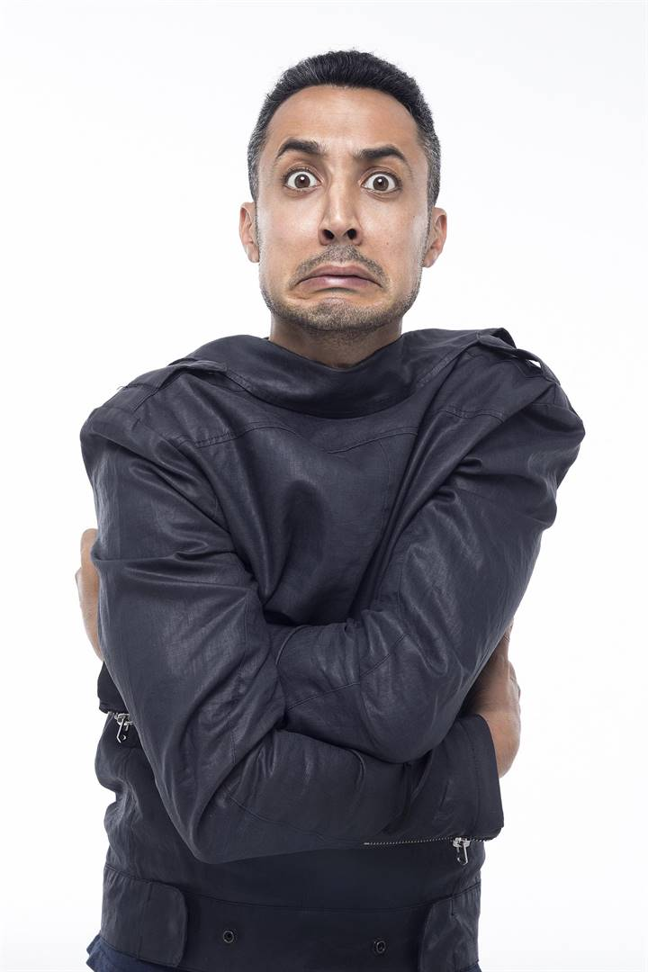 PHOTO: suppliedRiaad Moosa has cancelled his 'Not A Nice Guy' Comedy Tour.