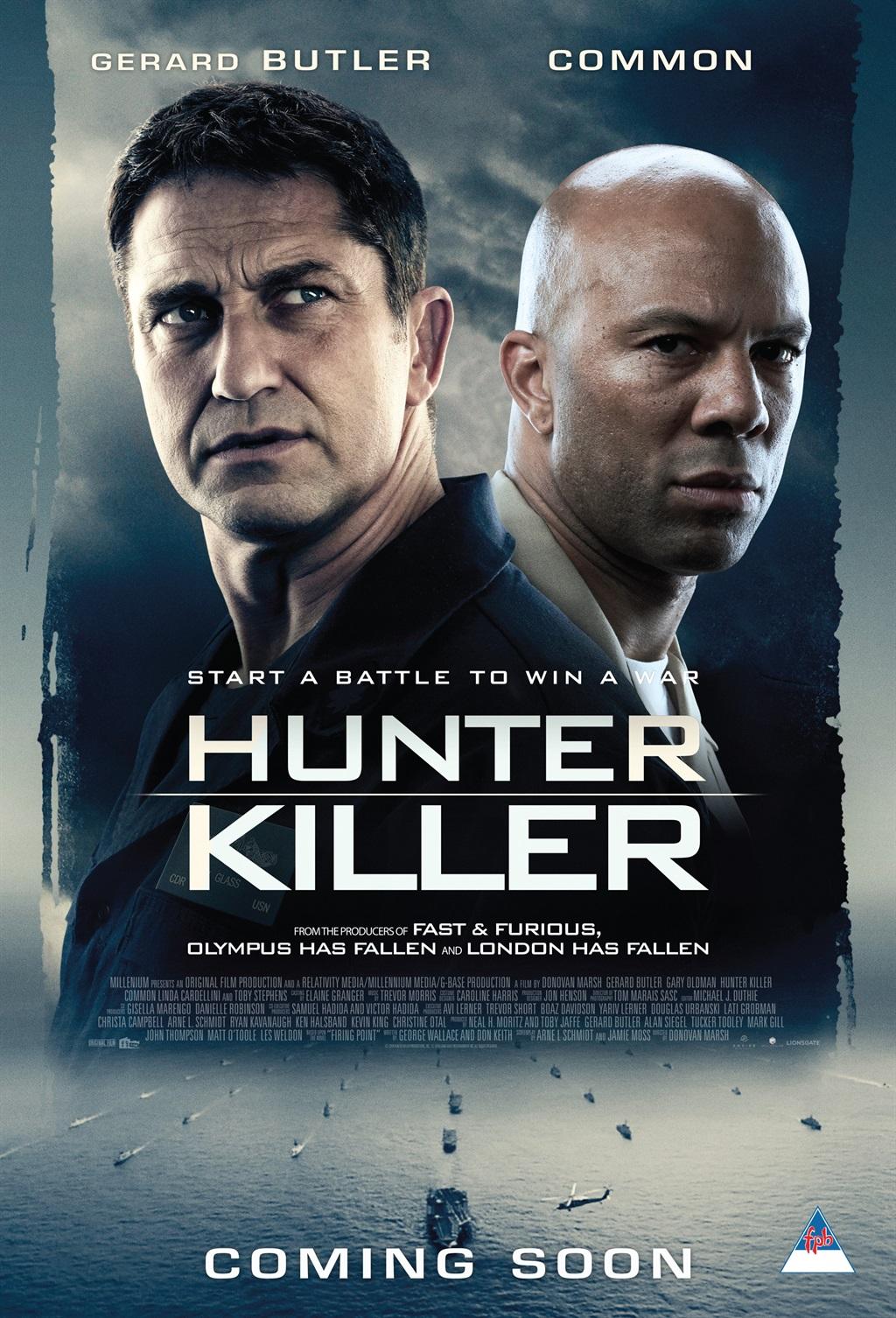 Hunter Killer, directed by South African director Donovan Marsh