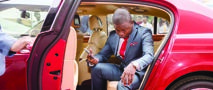 LIVING IT UP Prophet Shepherd Bushiri is known for his lavish lifestyle that is financed by proceeds from his congregation