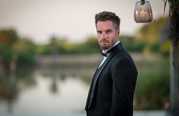 Marc Buckner on 'The Bachelor SA' finale. (Photo: M-Net)