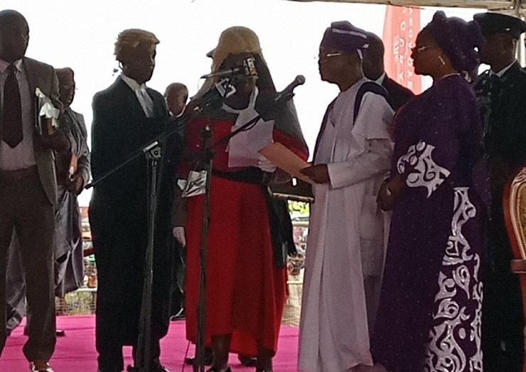 Oyetola sworn-in as new governor of Osun