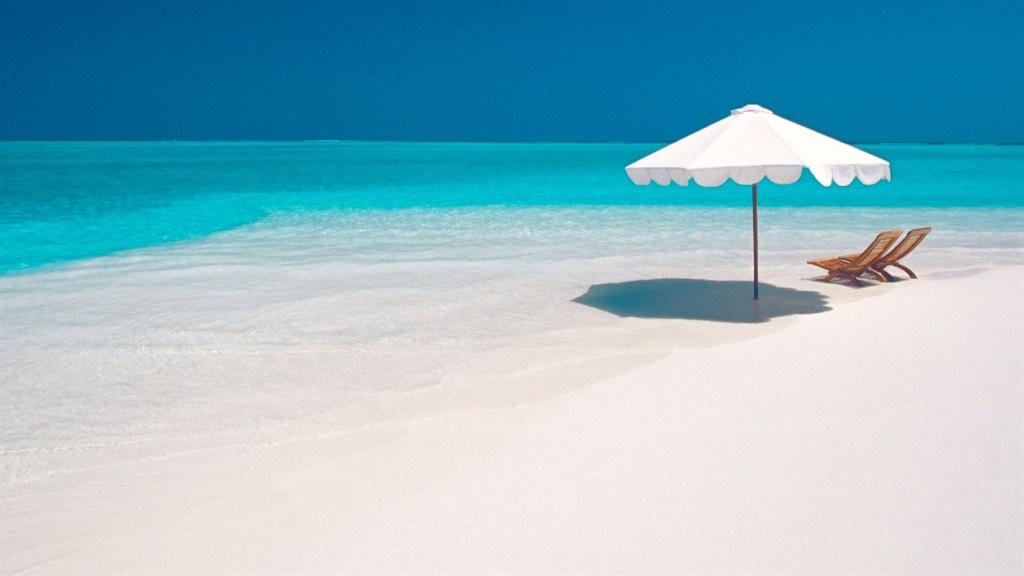vacation spot at the beach