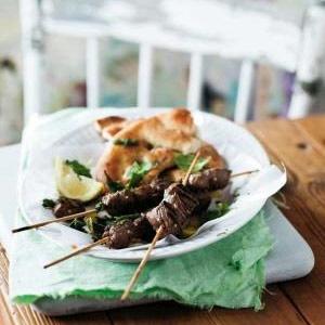 recipe, grill lamb, kebabs, braai,summer