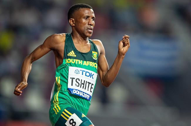 South African athlete Tshepo Tshite (Gallo Images)