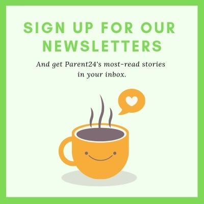 Sign up for Parent24's newsletters.