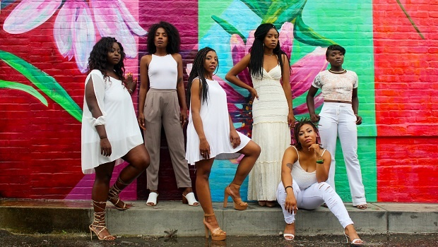 Young black and successful women