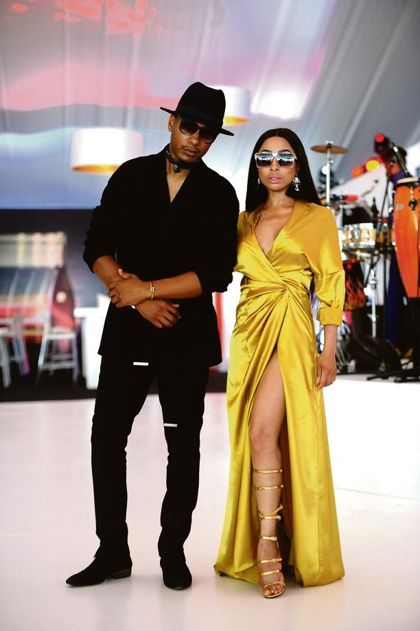 Khanyi Mbau announced on her social media that she and her partner of 10 years, Tebogo Lerole, had split up. Picture: Lerato Maduna