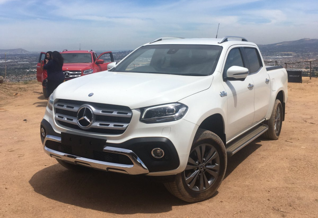 Sa S Most Expensive Bakkies Mercedes Benz And Bmw Partner For Self