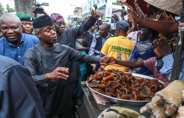 Osinbajo during the launch ofTrader Moni in Lagos