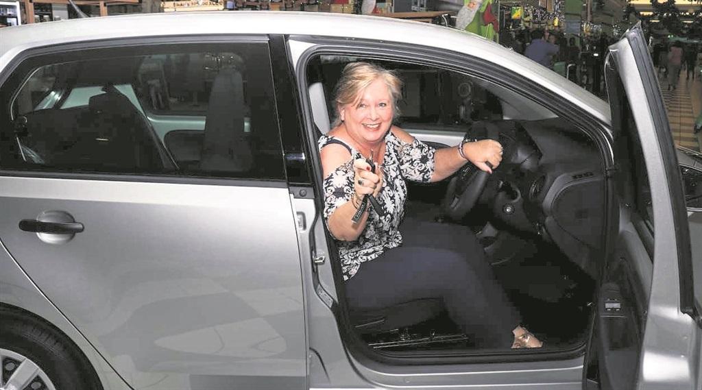 PHOTO: SUPPLIEDWin a Car winner Nauveen Walsch in her new VW up!