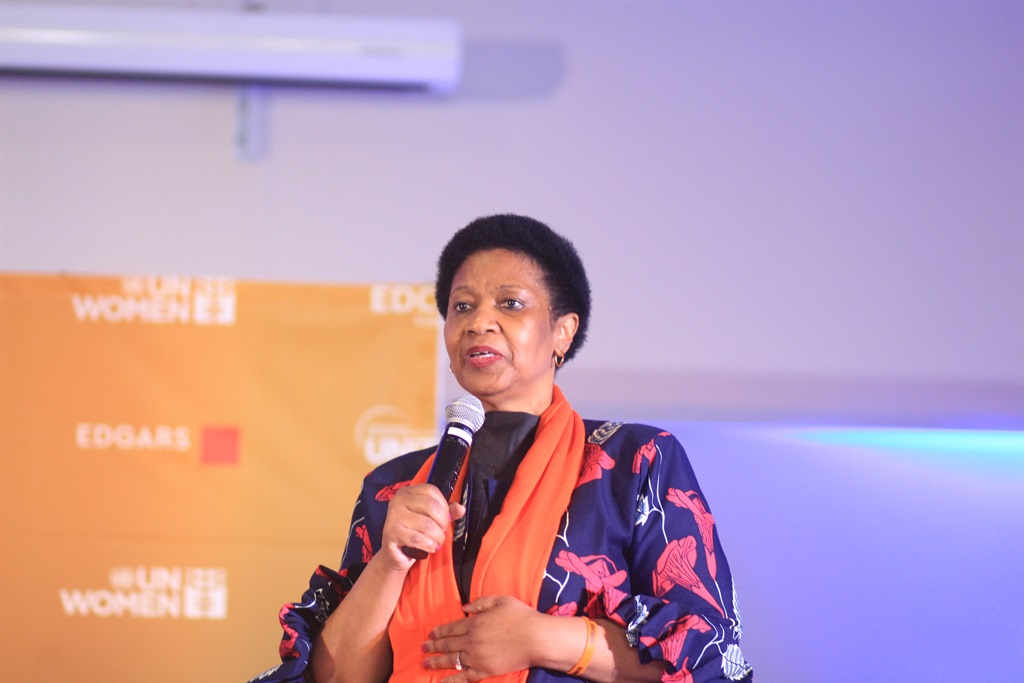 UN Women executive director Phumzile Mlambo-Ngcuka Picture: Avantika Seeth