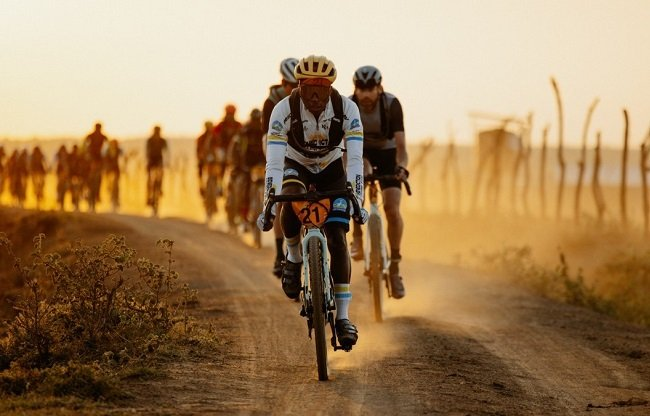 African riders should be leading from the front, at more global gravel events (Photo: Wahoo)