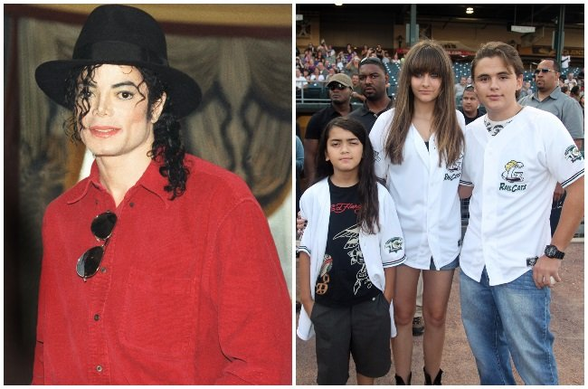 To the world Michael Jackson was a music superstar. To his three children Bigi, Paris and Prince, he was just 'dad'. (PHOTO: GALLO IMAGES / GETTY IMAGES)