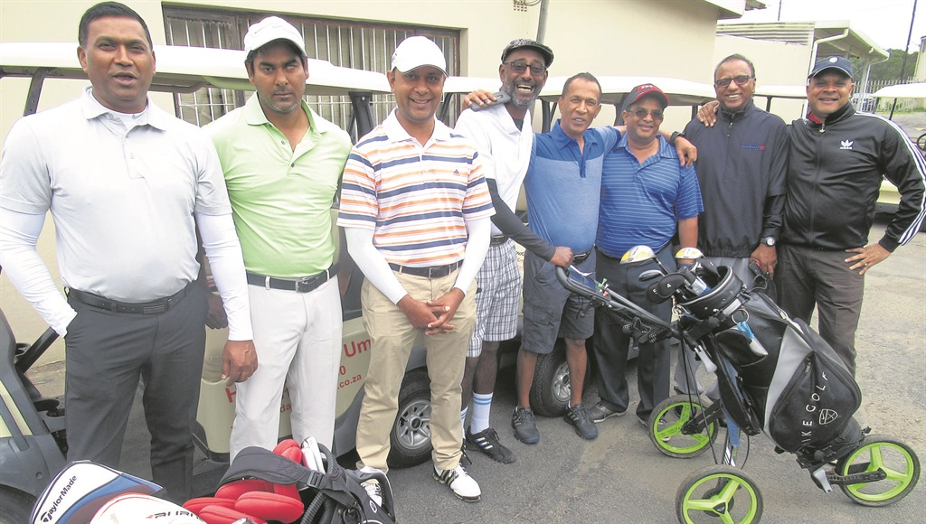 PHOTO: suppliedSome of the early starters supporting the Toti Rotary Golf Day.