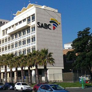 SABC building in Cape Town. (Duncan Alfreds, Fin24)