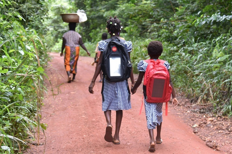 Millions of school girls get married in Africa before then 18th birthday.