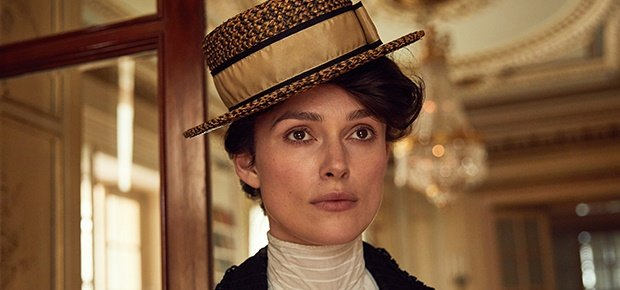 Keira Knightley in a scene from Colette.