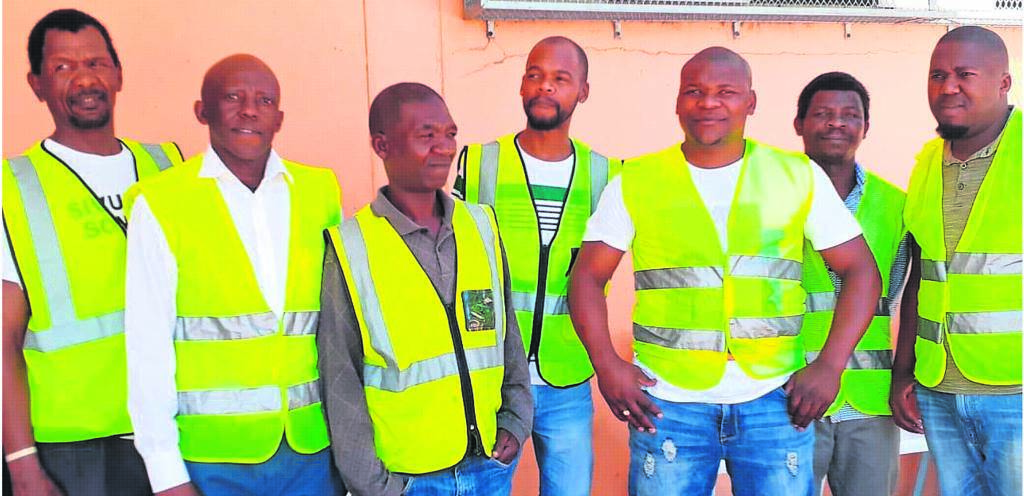 Members of the Langa Safety Patrol keep their streets safe.