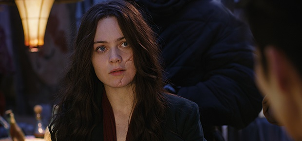 Hera Hilmar in a scene from the movie Mortal Engines. (Universal Pictures)