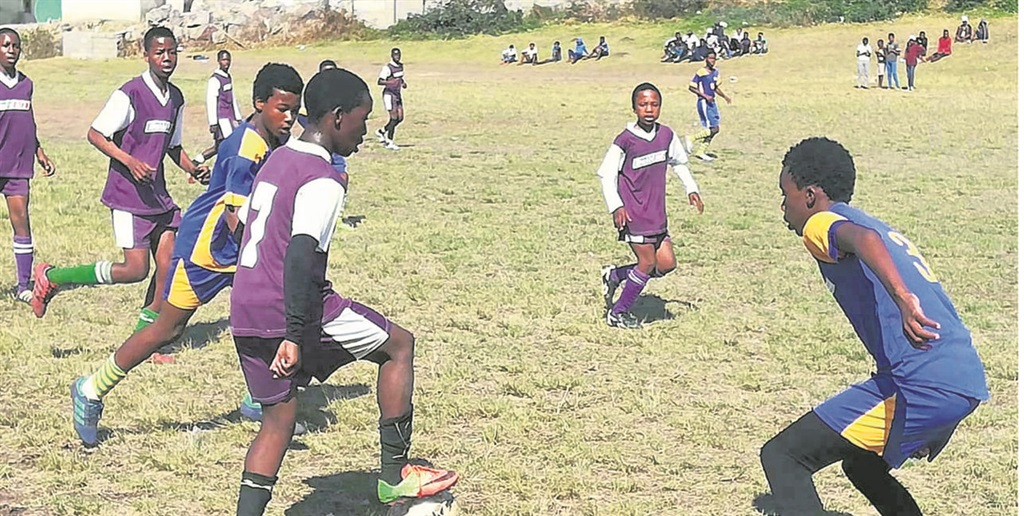 The boys from the Gamalakhe Youth League gave their all at the final game of the year on Saturday. PHOTO: supplied