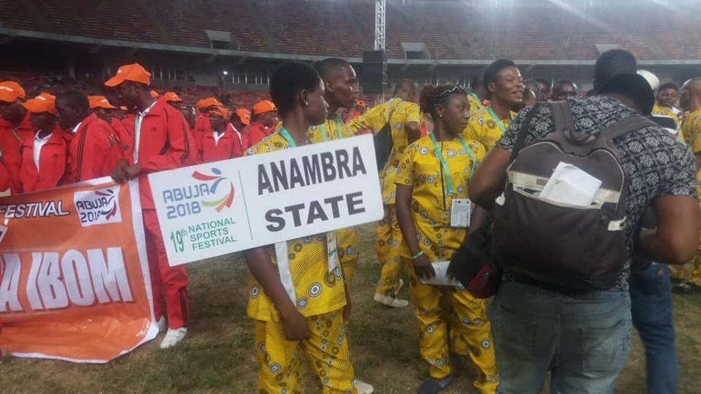 national sports festival, nsf 2018, anambra state