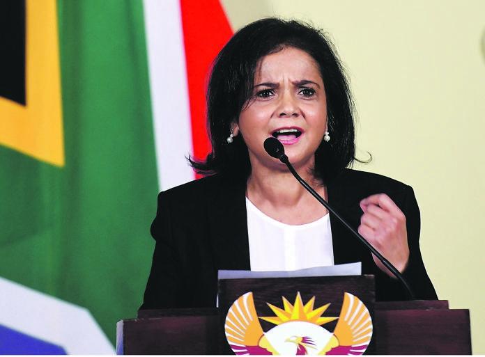 Advocate Shamila Batohi.