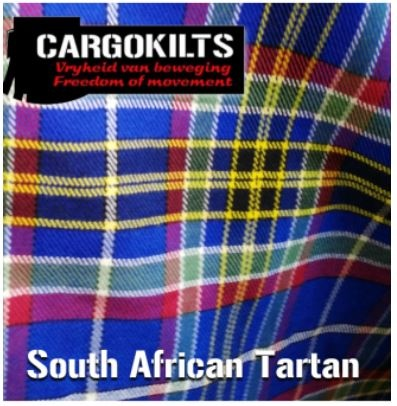 South African tartan, designed by Cargokilts.