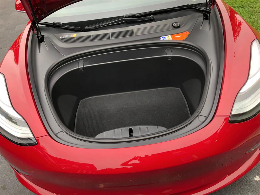 The Front Trunk Of Tesla Model 3 Business Insider