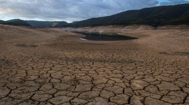 Drought and low water levels. (AFP, File)